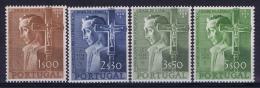Portugal: Mi 831 - 834  E 802 - 805 MH/* Falz/ Charniere   1954