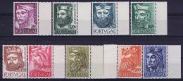 Portugal: Mi 835 - 843  E 806 - 814 MNH/**/postfrisch/neuf 1955