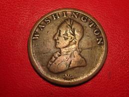 USA - Washington Colonial 12 KM#Tn40 - Double Head - Émissions Pré-Fédérales