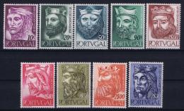 Portugal: Mi 835 - 843  E 806 - 814 MH/* 1955