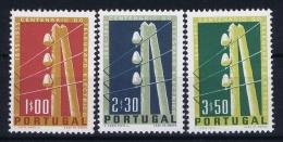 Portugal: Mi 844 - 846  E 815 - 817 MNH/**/postfrisch/neuf 1955