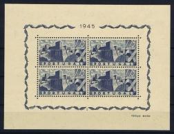 Portugal: Mi  Block Nr 10 MNH/**/postfrisch/neuf 1946   A700