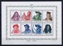 Portugal: Mi  Block Nr 13 MNH/**/postfrisch/neuf 1947  706 - 713