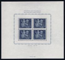 Portugal: Mi  Block Nr 11 MNH/**/postfrisch/neuf 1946  701