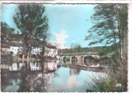 81 MIRANDOL BOURGNOUNAC ( Tarn ) - Le Pont Du Cirou - Vue Prise Des Berges De L´Aveyron - CPSM APA N° 113 - Non Classificati