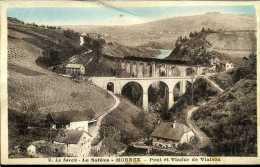 CPA - Mornex (73) - Pont Et Viaduc  Ferroviaire De Viaison - Kunstbauten