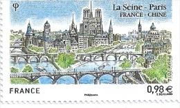 2014 La Seine-Paris France-Chine - Francia