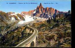 CPA - Chamonix - Mont-Blanc (74) -  Viaduc Ferroviaire - Ouvrages D'Art
