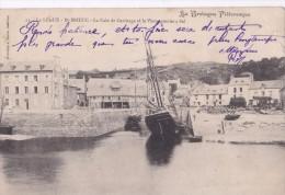 Carte 1905 Le LEGUE ST BRIEUC / LA CALE DE CARENAGE ET LE VIEUX GRENIER A SEL (voilier) - Saint-Brieuc