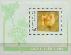 Azerbaijan 1993. Flowers.Sheet.1v.Roses.Michel.24. MNH.22521 - Végétaux
