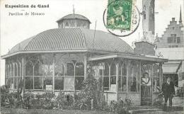 BELGIQUE Exposition De Gand Pavillon De Monaco - Belgium