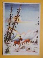 35137 - New Year, Rehkitz, FAON, CHEVREUIL, STAMP STT VUJNA 1953 UMAG - Non Classificati