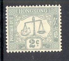 HONG KONG, 1938 2c (ordinary Paper, Wmk Script CA Sideways) Fine MM, SGD6 - Hong Kong (...-1997)