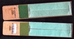 2 PLANCHETTES AFFUTOIRS MINENSCHÄRFER 51/2 CRAYONS/PASTELLS FABER CASTELL SANDPAPER BLOCK TABLITA AFILAMINAS COM ESMERIL - Papeterie