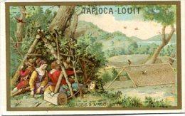 Tapioca-Louit - Chasse à L'alouette - Cabane , Piège - Chromos