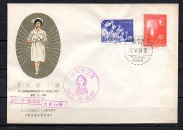 Taiwan 1964 / Nurse Day > FDC - 1945-... République De Chine
