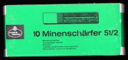 FABER CASTELL 10 PLANCHETTE AFFUTOIR MINENSCHÄRFER 51/2 CRAYONS/PASTELLS SANDPAPER BLOCK TABLITA AFILAMINAS COM ESMERIL - Papeterie
