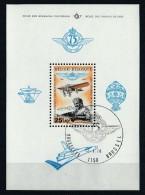 Belgique 1976 - Bloc Feuillet N° 49 Oblitération 1er Jour : 75ème Anniversaire De L'Aéro-Club Royal De Belgique - Blocs 1962-....