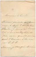 Lettre Autographe. Prince Philippe D'Arenberg, Bruxelles 14 Avril 1898. - Autographes