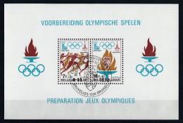 Belgique 1978 - Bloc Feuillet N° 53 Oblitération 1er Jour : Préparation Aux Jeux Olympiques De 1980 - Blocs 1962-....