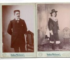 Montpellier. Louis 1899.Notable Et Mousquetaire. 2 Photos De E.Bras. - Photographs