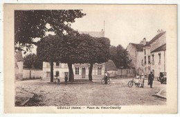 94 - COEUILLY - Place Du Vieux-Coeuilly - 1937 - Champigny Sur Marne