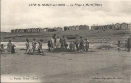 LA PLAGE A MAREE BASSE - Saint Aubin
