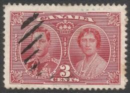 Canada. 1937 Coronation. 3c Used. SG 356 - 1937-1952 Reign Of George VI