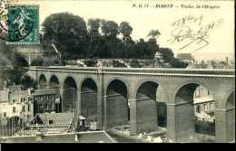 CPA - Elbeuf (76) - Viaduc Ferroviaire De L´Hospice - Kunstbauten