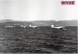 Aereo Aliante Alianti In Mare  Aerei Tematica Aviazione (localita'non Definita Foto 10 X 15) - 1946-....: Era Moderna
