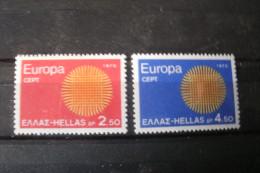 TIMBRE De Grece    N° 1020/1021** EUROPA - Greece