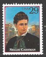 1994 Legends Of The West Single, Nellie Cashman, Mint Never Hinged - United States