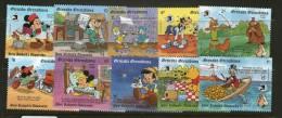 DISNEY 1989 GRENADA-GRENADINES  MICKEY AUX USA   YVERT N°1062/71  NEUF MNH** - Disney