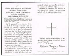 Kortessem : Johannes, Antoon Ramaekers ; 1961 (2 Scans) - Images Religieuses