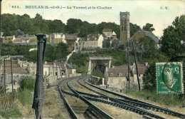 CPA - Meulan (91) - Tunnel Ferroviaire - Ouvrages D'Art