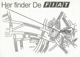 Fiat Automobiles - Hillerød   Denmark.  # 02699 - Publicité