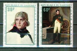 Napoléon Bonaparte - DAHOMEY - Esquisse De J.L. David - Peinture De Lefèvre - 1969 - N° 101-102 ** - Benin - Dahomey (1960-...)