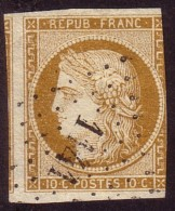 Type Cérès 10c Bistre Jaune - 1849-1850 Ceres