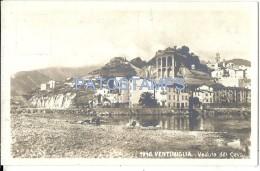 33912 ITALY VENTIMIGLIA IMPERIA VIEW OF LEAD VIEW PARTIAL POSTAL POSTCARD - Italie