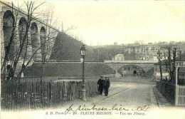CPA - Fleury Meudon (91) - Pont Et Viaduc Ferroviaire - Kunstbauten