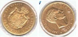 ESPAÑA ALFONSO XII 25 PESETAS 1877 ORO GOLD A33 - [ 1] …-1931 : Reino