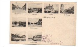 Schoenebeck. Carte Multivues. - Schoenebeck (Elbe)