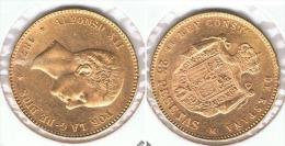 ESPAÑA ALFONSO XII 25 PESETAS 1878 ORO GOLD A40 - [ 1] …-1931 : Reino