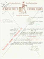 Lettre Illustrée 1959 - HAM-SUR-HEURE - LES VOLONTAIRES REUNIS DE LA REVOLUTION BRABANCONNE - Folklore & Marches - Sin Clasificación