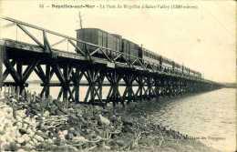 CPA - Noyelles Sur Mer (80) - Pont Ferroviaire - Ouvrages D'Art
