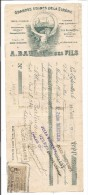 VP.0198/ Grandes Usines De La Sirène - Baudou - Les Eglisottes - Gironde - Illustration Cappiello - Bills Of Exchange