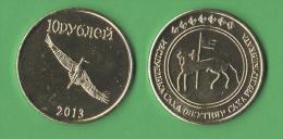 Jacuzia 10 Rubli 2013 Pseudomoneta / Gettone - Monete