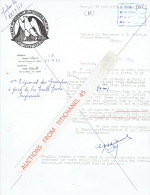 Lettre 1965 ROUX - IMPERIALE 1er REGIMENT DES GRENADIERS A PIED DE LA VIEILLE GARDE - Sin Clasificación