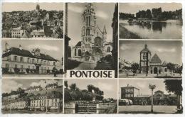 Pontoise Multivues : Divers Aspects De La Ville Et Les Bords De L'Oise (n°9180 Ed Guy) - Pontoise