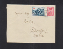 Yugoslavia Cover 1940 Red Cross - 1931-1941 Königreich Jugoslawien